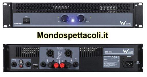 W Audio EPX 300 Amplificatore di potenza