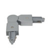 1-Phase Corner Connector Argento - (RAL9006)