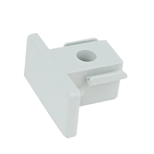 1-Phase End Cap Bianco (RAL9003)