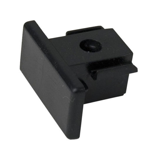 1-Phase End Cap Nero (RAL9004)