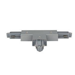 1-Phase Left T-Connector Argento (RAL9006)