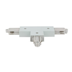 1-Phase Left T-Connector Bianco (RAL9003)
