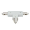 1-Phase Right T-Connector Bianco (RAL9003)