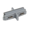 1-Phase Straight Connector Argento (RAL9006)