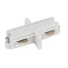 1-Phase Straight Connector Bianco (RAL9003)