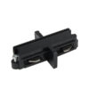 1-Phase Straight Connector Nero (RAL9004)