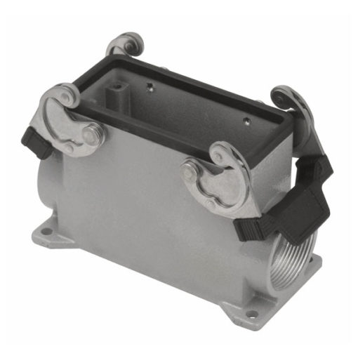 16/72p. Chassis Closed Bottom/Clips PG29 Grigio, polo 16/72