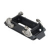 16/72p. Chassis Open Bottom/Clips Nero
