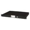19 Inch Drawer with keylock 1U (483 x 350 x 44 mm, LxPxA)/4,8 kg