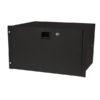 19 Inch Drawer with keylock 6U (483 x 350 x 267 mm, LxPxA)/10,5 kg