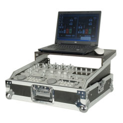 "19"" Mixer case 9U with shelf 19"" con ripiano, 11,50 kg"