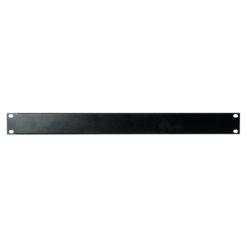19 inch Blindpanel Black 1U