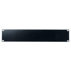 19 inch Blindpanel Black 2U