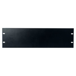19 inch Blindpanel Black 3U