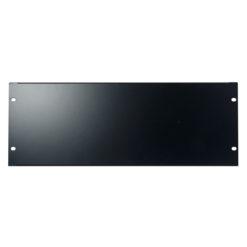 19 inch Blindpanel Black 4U