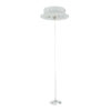 3-Phase Ceiling Suspension Kit Bianco (RAL9003) - Con cavo in acciaio max. 1500 mm