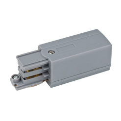 3-Phase Left Feed-In Connector Argento (RAL9006)