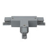 3-Phase Right T-Connector Argento (RAL9006)