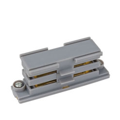 3-Phase Straight Connector Argento (RAL9006)