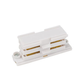 3-Phase Straight Connector Bianco (RAL9003)