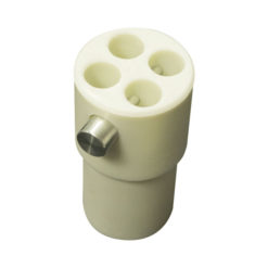 4-way connector replacement 50,8 (diametro)mm, Bianco