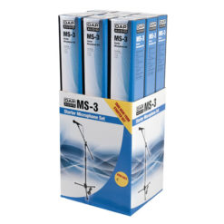 9 x MS-3 Microphone Retail Set