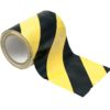ACCESSORY Cable Tape yellow/black 150mm x 15m