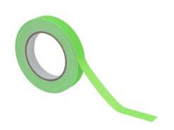 ACCESSORY Gaffa Tape 19mm x 25m neon-green UV-active