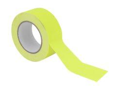 ACCESSORY Gaffa Tape 50mm x 25m neon-yellow uv active