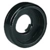 ACCESSORY Plastic Washer, black, big (recessed)