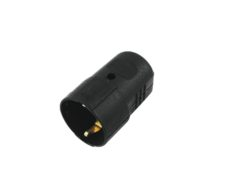 ACCESSORY Safety Connector Plastic bk