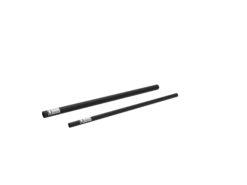 ALUTRUSS Aluminium Tube 6082 50x2mm 1m black