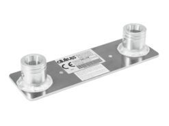 ALUTRUSS BILOCK E-GL22 Wallplate