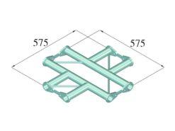 ALUTRUSS BISYSTEM PH-41 4-way cross horizontal