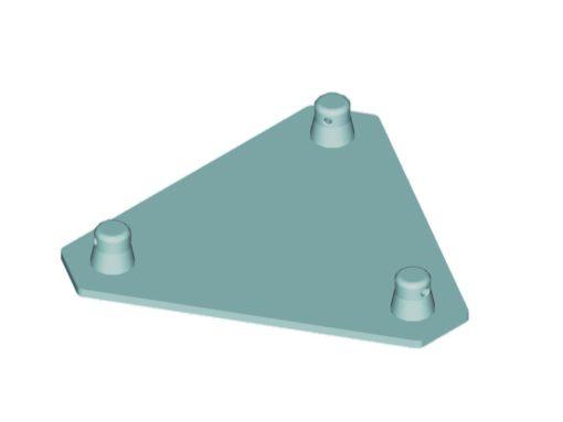 ALUTRUSS DECOLOCK DQ3-BPM Base Plate MALE