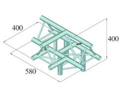 ALUTRUSS DECOLOCK DQ3-PAT43 4-Way T-Piece /