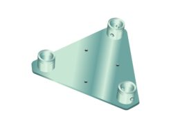 ALUTRUSS DECOLOCK DQ3-WP Wall Mounting Plate