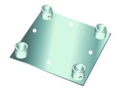 ALUTRUSS DECOLOCK DQ4-WP Wall Mounting Plate