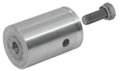 ALUTRUSS DECOLOCK female conical coupler w.screw