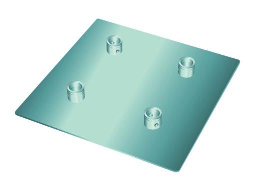 ALUTRUSS QUADLOCK End Plate QQGP 50cm x 50cm