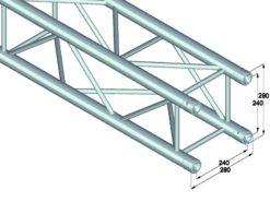 ALUTRUSS QUADLOCK QL-ET34-2000 4-way cross beam