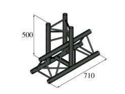 ALUTRUSS TRILOCK S-PAT-35 3-Way T-Piece