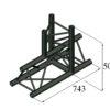 ALUTRUSS TRILOCK S-PAT-37 3-Way T-Piece