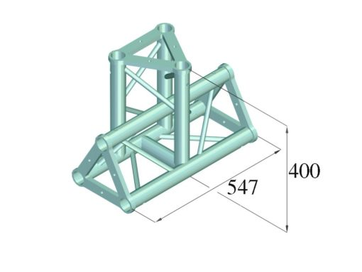 ALUTRUSS TRISYSTEM PAT-35 T-pc 3-way vert.