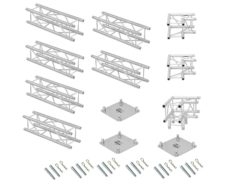 ALUTRUSS Truss set QUADLOCK 6082 L-Figure 7x4x3.5m (WxDxH)