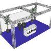 ALUTRUSS Truss set QUADLOCK 6082 rectangle 7.71x4x3.5m (WxDxH)