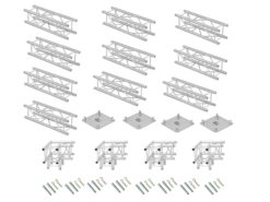 ALUTRUSS Truss set QUADLOCK 6082 rectangle 7x4x3.5m (WxDxH)