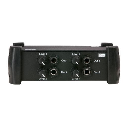 AMP-104 amplificatore cuffie a 4 canali