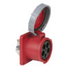 CEE 125A 400V 5p Socket Female Rosso, IP67