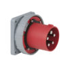 CEE 125A 400V 5p Socket Male Rosso, IP67